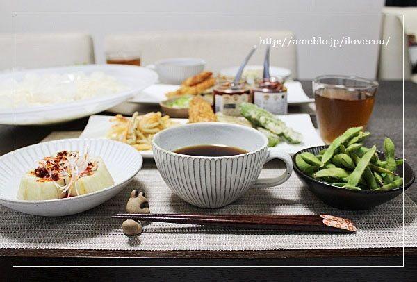 晩ご飯2日分。~天ぷらうどんと枝豆ご飯などなど~