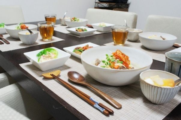 【レシピ】風邪と肉と。~牛筋deコムタン風クッパ~
