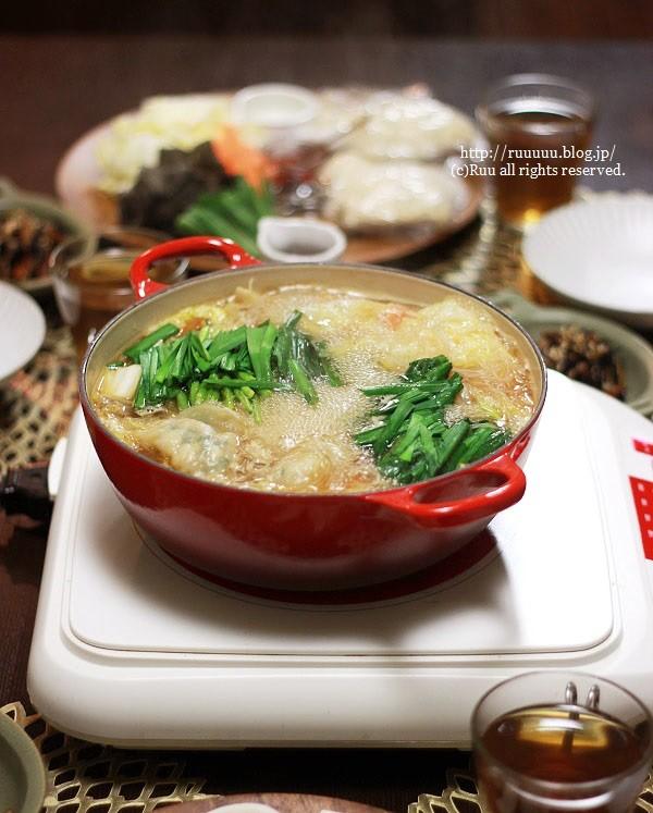 【レシピ】お鍋ひとつでコース料理気分♡~水餃子鍋からの広東麺~