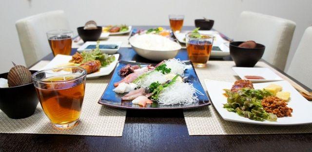 男の手巻き寿司。~コチュジャン肉味噌~