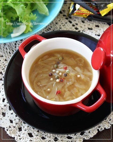 皿と鍋。~ストウブで♡とろっとろオニオンスープ~