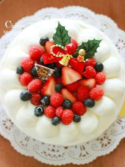クリスマスケーキ2015。~ベリーのヨーグルトムースケーキと黒歴史達~
