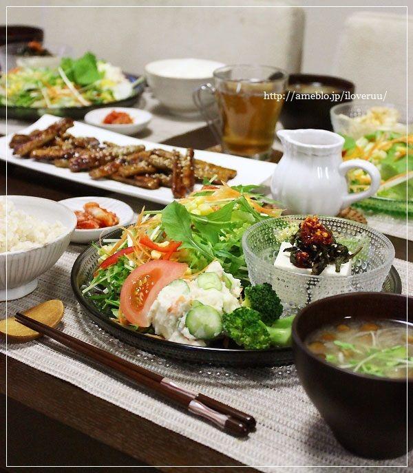 生野菜が食べたかった日。~サラダ定食~