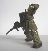 指揮官用ザクII 砂漠戦仕様