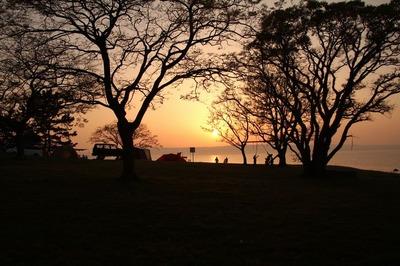 夕日のサイト