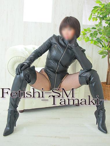 珠稀女王様 専用衣装 黒革ボディスーツ 【珠稀女王様専用衣装4】