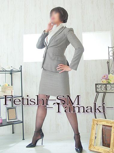 珠稀女王様 専用衣装 茶スーツ(タイトスカート)【珠稀女王様専用衣装10】