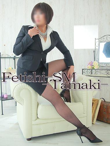 珠稀女王様 専用衣装 黒タイトスカート&スーツ【珠稀女王様専用衣装12】