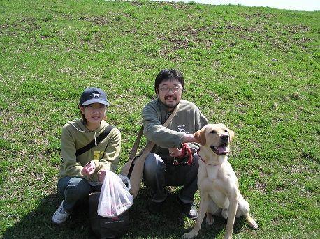 2004年5月5日 豊平川にて