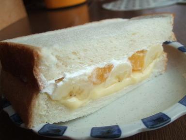 我が家's ブーム フルーツサンドイッチ