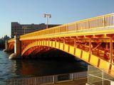 蔵前橋 橋げた