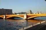 蔵前橋 橋げた遠景