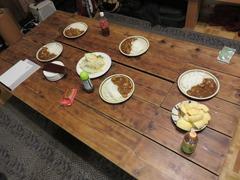カレー食卓
