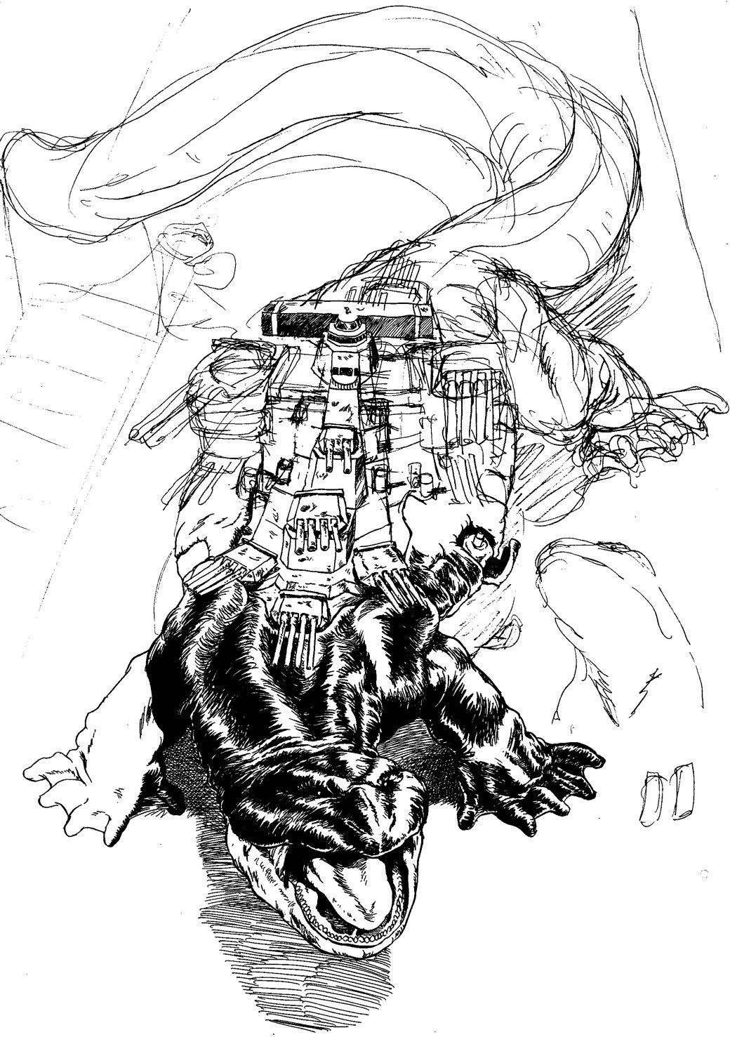 怪獣戦艦2