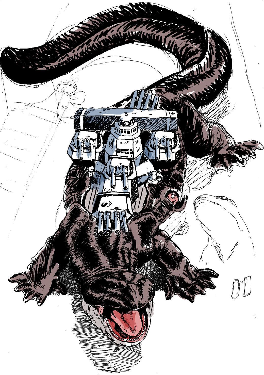 怪獣戦艦1