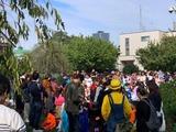 10月27日蕨市中央2丁目土橋町会・親子でハロウィンを楽しもう2