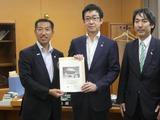 7月5日静岡県の湖西市・影山市長が城内実議員要望