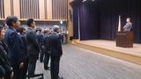 10月9日内閣府職員への挨拶式