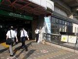 9月11日武蔵浦和東口駅頭3