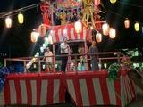 8月9日蕨市の須賀町町会納涼盆踊り