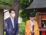 7月12日桜区栄和八重垣神社・中島荒神様・道場八重垣神社・神幸祭