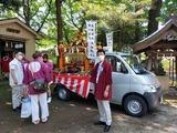 7月18日夏祭り・神輿渡御・大谷場氷川神社2