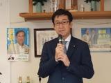 3月11日萩原章弘市議・事務所開き