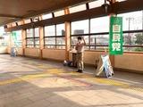 7月29日戸田公園駅・駅頭2