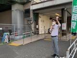 7月26日中浦和駅・駅頭