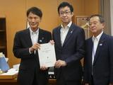 7月3日鹿児島県・三田園知事、柴立議長、子育て支援に関する要望