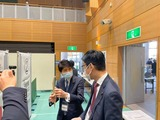 2月28日戸田市コロナワクチン集団接種シミュレーションを視察3