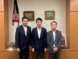 7月9日さいたま市議会・島崎議長と松下副議長挨拶