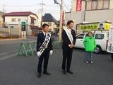 4月6日さいたま市桜区・南区・戸田市・・宣車遊説に街頭演説会4