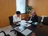 8月29日大宮国道事務所・田中所長・進捗状況2