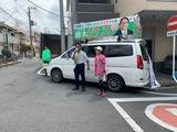 6月1日鈴木なおし候補の宣車、遊説2
