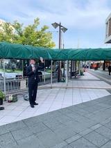 10月20日蕨駅西口街頭演説