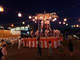 8月10日桜区五関の納涼盆踊り大会3