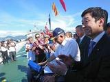 3月21日海上保安庁からの供与巡視船披露式7
