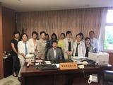 7月31日西川口法人会婦人部の皆様が国土交通省副大臣表敬