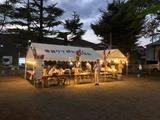 8月9日戸田笹目7丁目夏浜町会の盆踊り