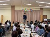 9月8日蕨市郷町会敬老会