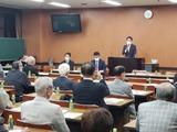 10月12日戸田市の3団体合同会議2