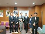 8月8日国交省で、副大臣・政務官の引継等の行事3