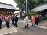 10月7日桜区西堀氷川神社令和3年度例大祭4