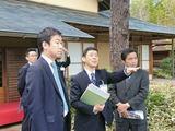 "4月13日国交省管理の""国営昭和記念公園""の視察2"