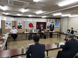 7月27日自民党県連・緊急役員会議