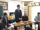 1月13日北高沼自治会から田島第一・栄和・北上の宮・門前自治会