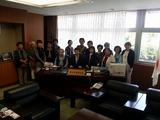 4月24日霜田紀子会長はじめ松本婦人クラブ国土交通省ツアー