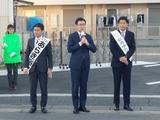4月4日戸田市・さいたま市南区・桜区街頭演説会5