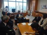 8月29日蕨市長、前川議長、保谷副議長、須賀県議・認可外の要望2